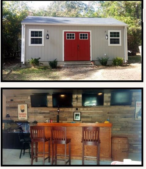 backyard cave shed garage ideas
