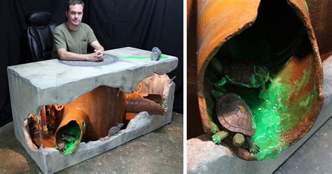 Mutant Turtles Desk by This Mutant Turtles Inspired Desk Is Going To Save You From Boredom At Work