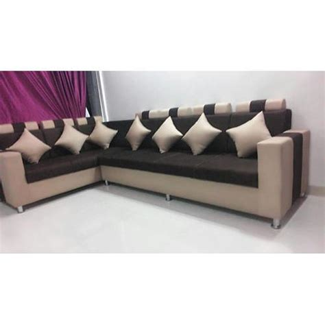 living room l shaped sofa 7 seater l shaped sofa at rs 37500 set l shape sofa set
