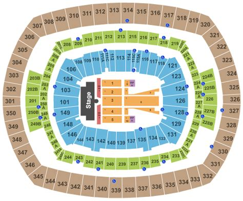 metlife stadium floor plan guns n roses metlife stadium tickets red hot seats