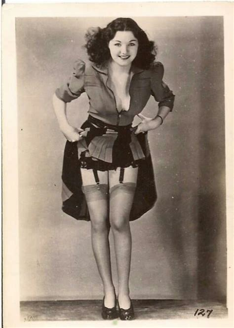 garters and nylons suspenders a 1940s at
