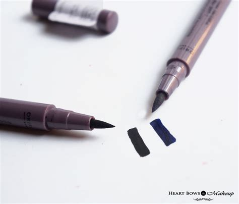 oriflame the one eye liner stylo black blue review