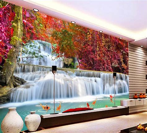 Custom 3d Photo Wallpaper Seascape Palm Wall Covering Mural Roll compare prices on mural wallpapers shopping buy low price mural wallpapers at factory