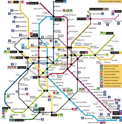 metro map in metro map pictures metro map of madrid pictures