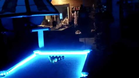 light up foosball table led pool table