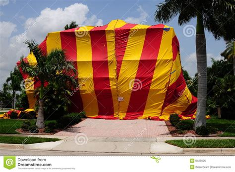 house pest control house tented for fumigation royalty free stock image