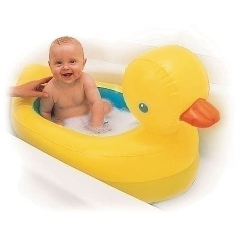 Baby Water Duck Mainan Bebek Mandi Bayi and safe for baby the munchkin white safety duck tub has a safety disc that
