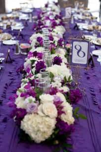 eggplant and silver wedding decorations purple wedding flower centerpieces bouquet idea