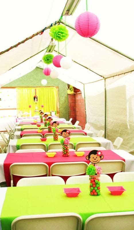 Mod Baby Shower Decorations by 25 Best Ideas About Monkey Decorations On