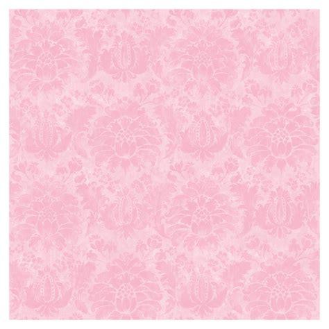 Pink Wallpaper Lowes | shop allen roth pink princess damask wallpaper at lowes com