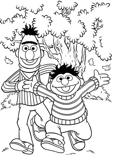 coloring pages sesame street coloring pages free coloring