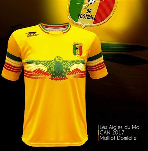 les maillots de la coupe d afrique des nations 2017