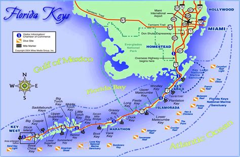 key west florida map florida and cuba map