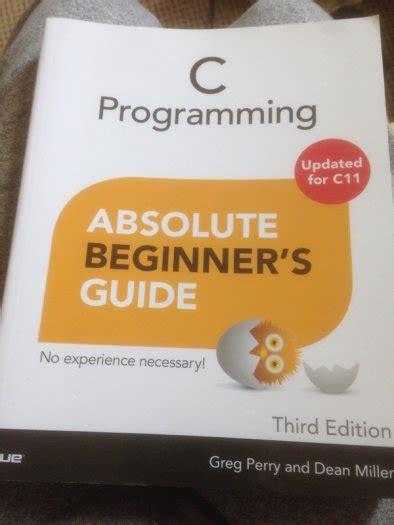 c programming for absolute beginners books c programming absolute beginners guide for sale in artane