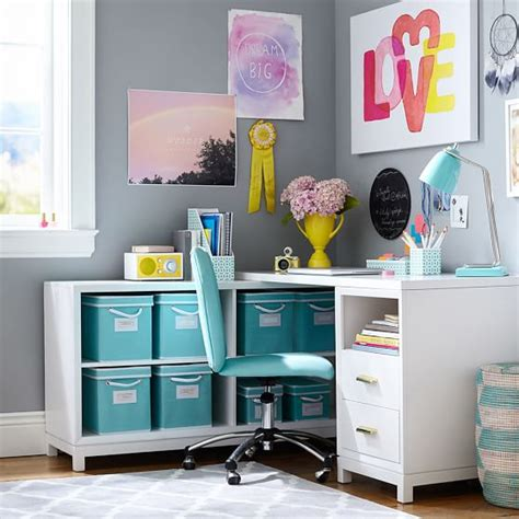 Room Essentials Corner Desk Rowan Drawer Corner Desk Pbteen