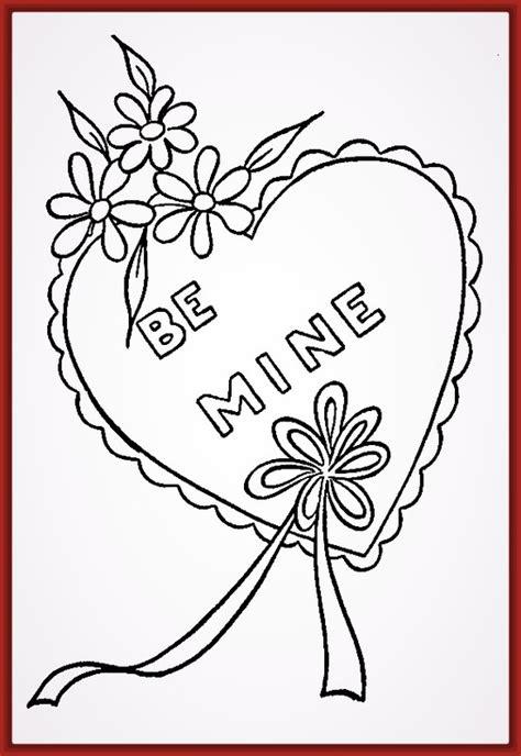 imagenes de rosas y corazones para colorear imagenes de corazones con flores para colorear fotos de