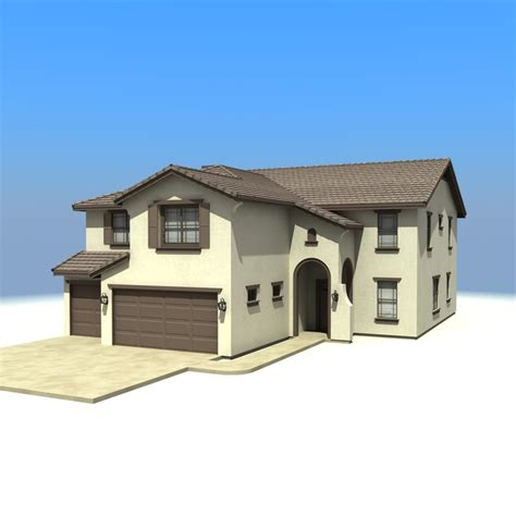 building model houses 3d house model