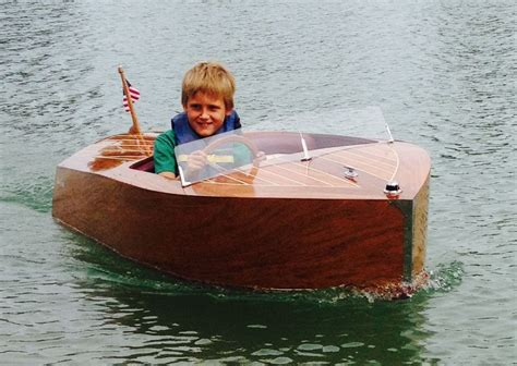 kid craft boats boat chris craft quot replica quot electric power one of a