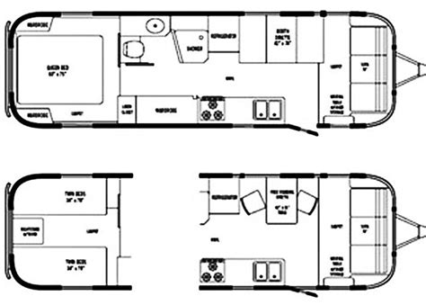 airstream travel trailer floor plans best 25 used airstream for sale ideas on pinterest
