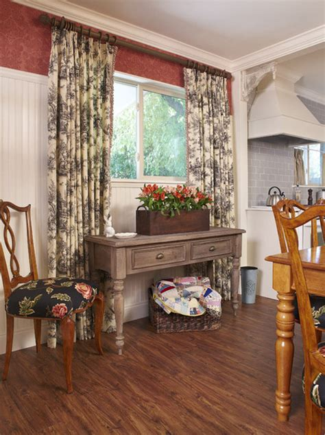 country french cottage dining room  traditional