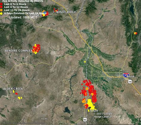 map of oregon 2015 fires soda in idaho nears containment wildfire today