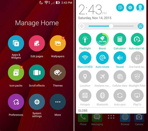 themes for zenui launcher gadget review asus zenfone 2 laser 5 0