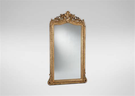 aged gold luxe floor mirror mirrors