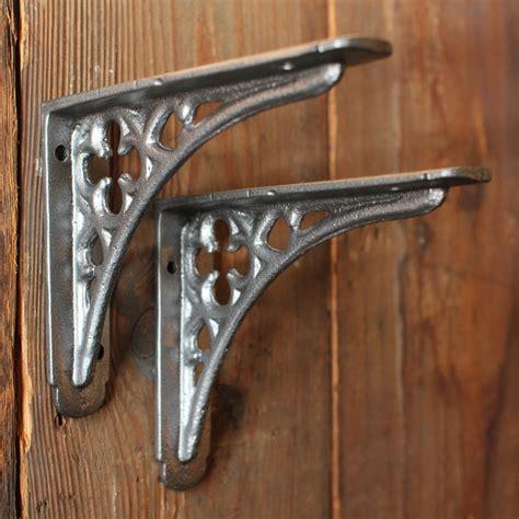 Antique Iron Shelf Brackets by Antique Shelf Brackets Pair Of Small Cast Iron By Yesterhomeuk