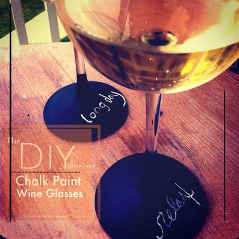diy chalk paint wine glasses hometalk diy chalk paint wine glasses