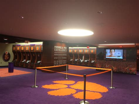 uni locker room clemson football locker room clements electrical electrical company in seneca sc