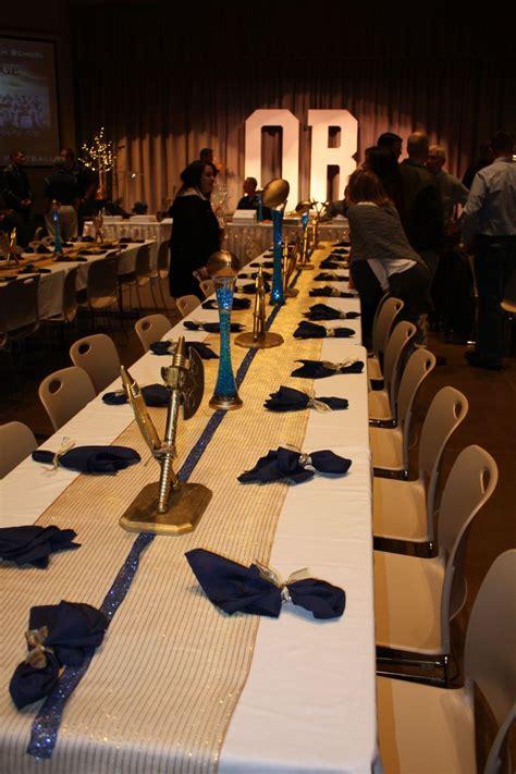 Football Banquet Decorations by Best 20 Football Banquet Ideas On Senior