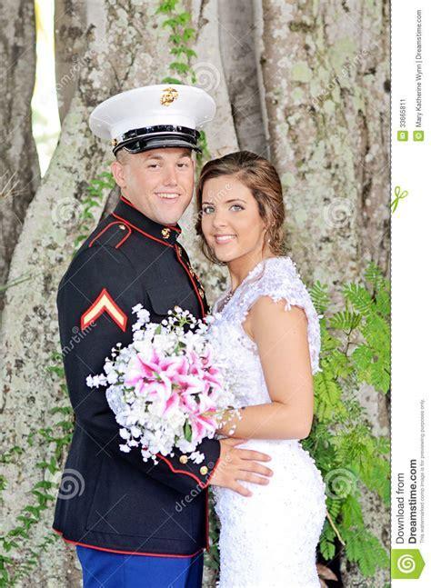 Happy Wedding Couple Stock Image   Image: 33665811