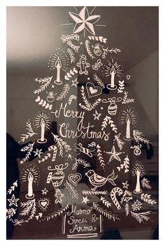 Fensterdekoration Weihnachten Dm by Fensterbild Mit Kreidestift Gezeichnet Quelle Https Www
