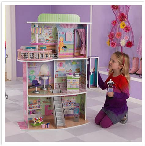 doll house clearance hot kidkraft shopping center dollhouse only 49 97 on clearance down from 169 99