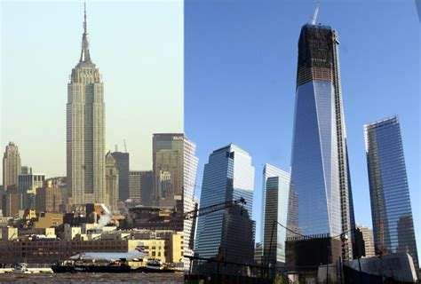 tower ny 1 wtc is now new york s tallest building ny daily news