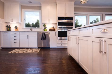 white cabinets with wood floors white lacquered wood cabinet glass doors grey tile ceramic