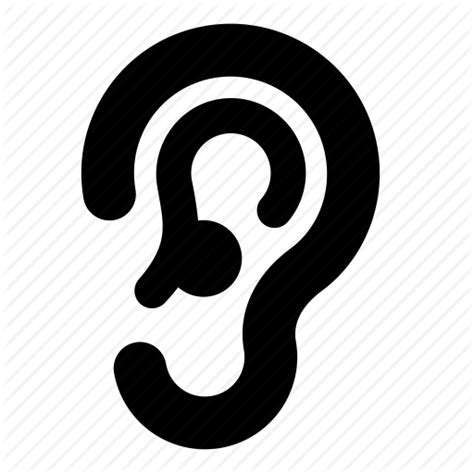 ear icon transparent earpng images vector  icons