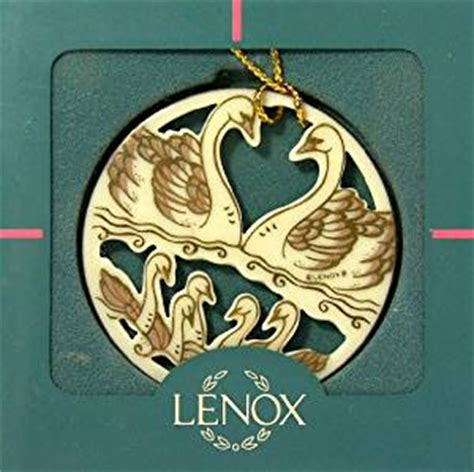 amazon com lenox 12 days of christmas 7 seven swans a
