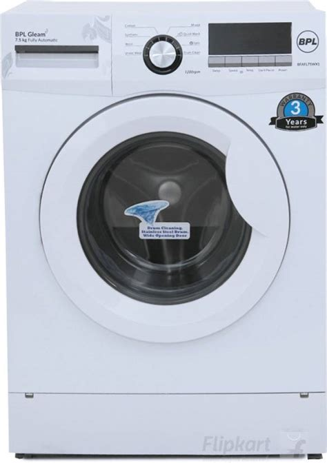 Gift Card Loading Machine - bpl 7 5 kg fully automatic front load washing machine price in india buy bpl 7 5 kg