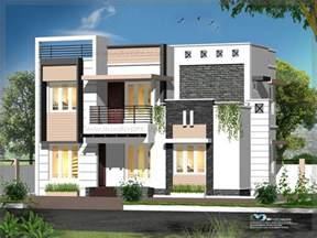 home designs contemporary style house elevation kerala model home plans