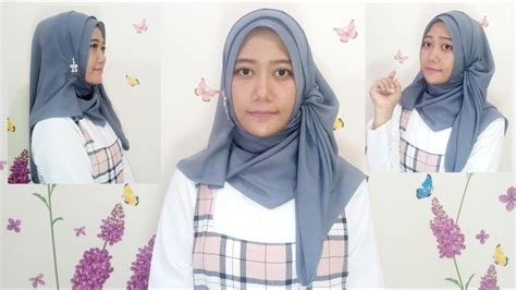 simple hijab tutorial youtube 27 tutorial hijab cara memakai jilbab segi empat