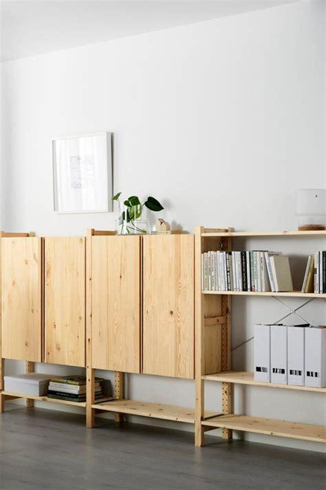 Ikea Ivar Ideen Kinderzimmer by Ivar 3 Section Shelving Unit W Cabinets Pine Living