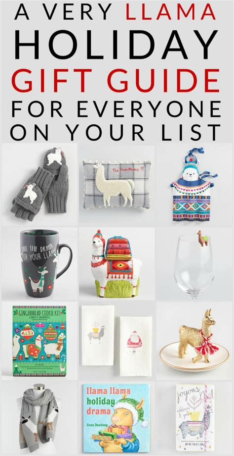llama gifts for everyone on your holiday shopping list
