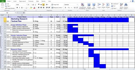 Business Plan Template Excel Excel Tmp Planning Template Excel