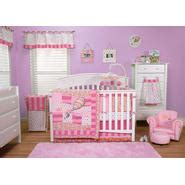 Geenny Pink Brown Butterfly 13pcs Crib Bedding Set Baby Pink And Brown Butterfly Crib Bedding
