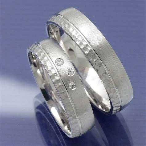 Eheringe Originell by Eheringe Shop Rhodinierte Silber Trauringe P4292394