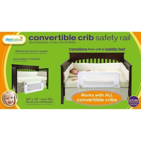 dex baby convertible crib safety rail dex products convertible crib bed rail 33 quot x 16 quot target