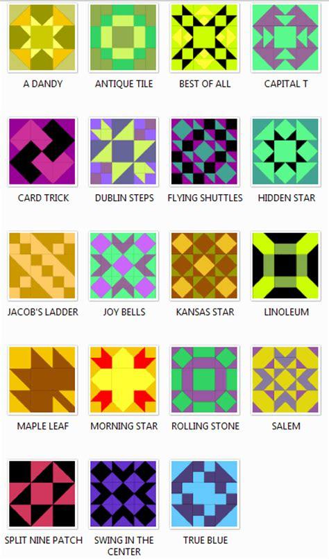 Quilt Pattern Names List by Nine Patch Quilt Block Patterns