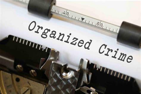 organized crime organized crime typewriter image
