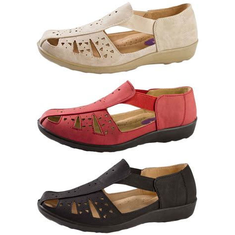 stretch comfort sandals womens faux leather comfort shoes elastic strap stretch